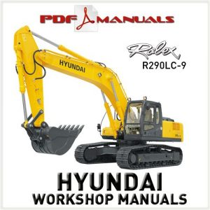Hyundai Robex R290lc 9 Excavator Service Repair Manual border=