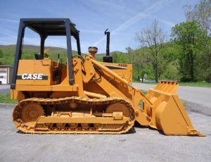 Case 850d, 855d Excavator
