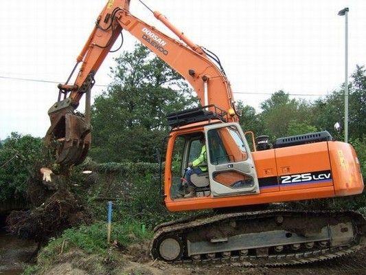 Doosan Daewoo Excavator V Series Electrical Schematic