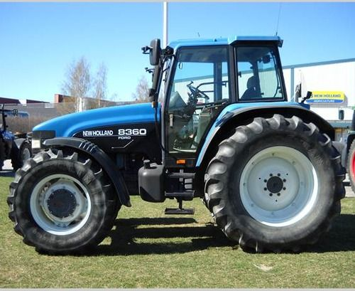 Ford New Holland 1715 Tractor Workshop Service Repair