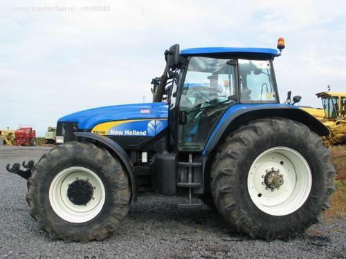 New Holland Tractor Cat Service Manuals