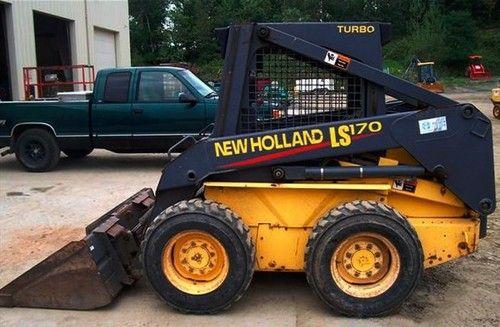 New Holland Ls160 Ls170 Skid Steer Loader Parts Catalogue