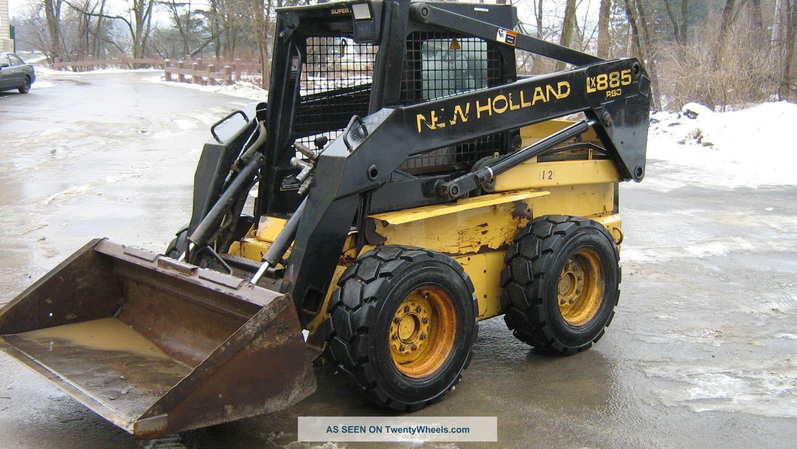 New Holland Lx885 Specs Skid Steer Loader Parts Manual  U2013 Crawler