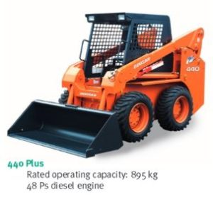 Daewoo Doosan 440 Plus Skid Steer Loader Service Parts Catalogue Manual on volvo excavator parts manual
