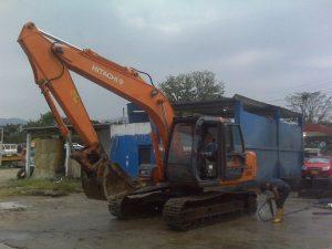 Hitachi Zx120 excavator operators Manual