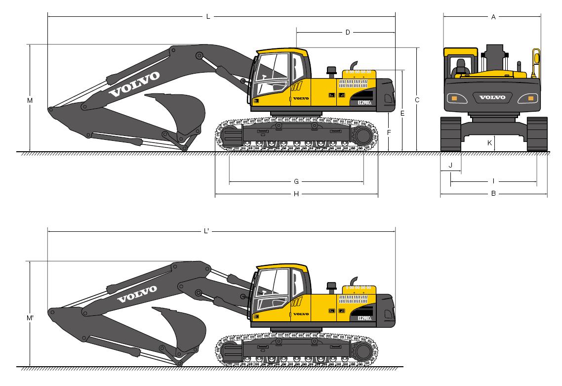 Volvo Ec55 Compact Excavator Workshop Service Repair Manual  U2013 Crawler