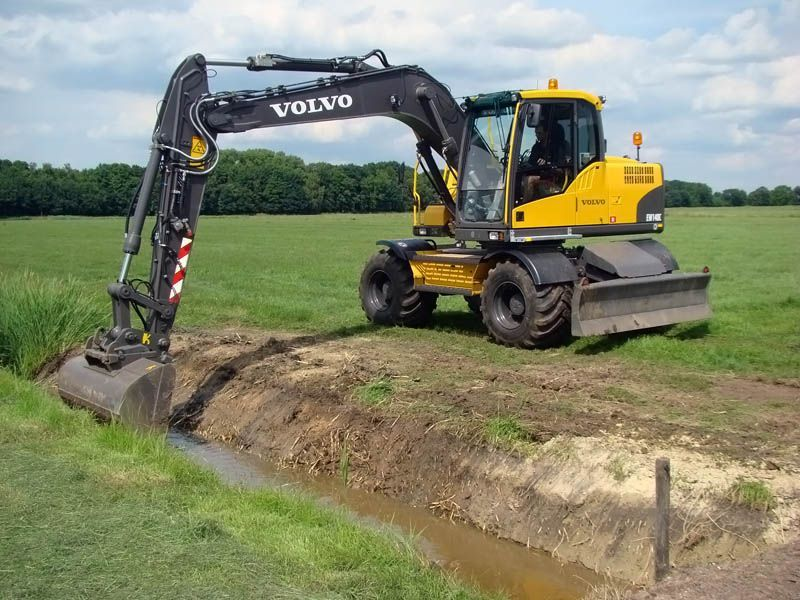 Volvo Ew 140 Wheeled Excavator Service Repair Shop Manual border=