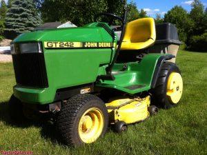 John Deere Lawn Tractor Gt Gt Gt Service Manual X
