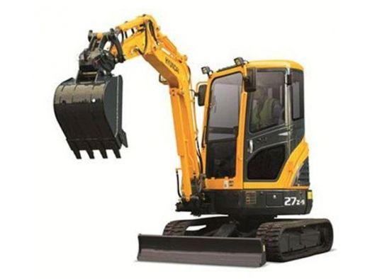 Hyundai Crawler Mini Excavator R27z 9 Operator Manual