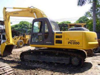Komatsu Pc230 6 Pc200lc 6 Hydraulic Excavator Repair Manual