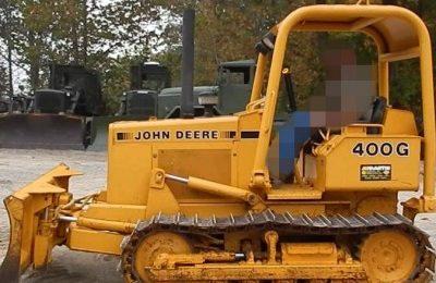 John Deere 400G Crawler Bulldozer Service Manual