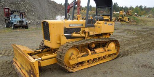 John Deere 450B Crawler Tractor Service Manual