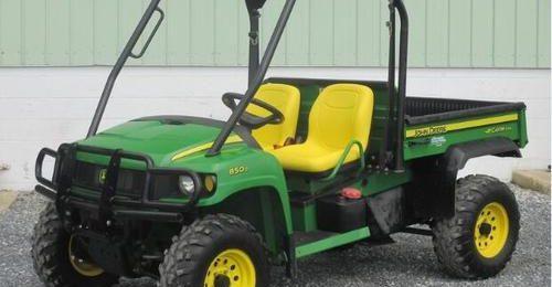 John Deere XUV 850D Gator Utility Vehicle Service Technical Manual